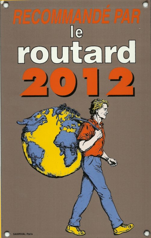Recommand� Guide du Routard 2012